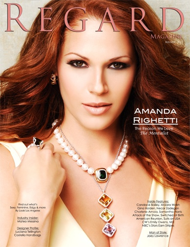 Amanda Righetti Regard Magazine Issue 15 cover