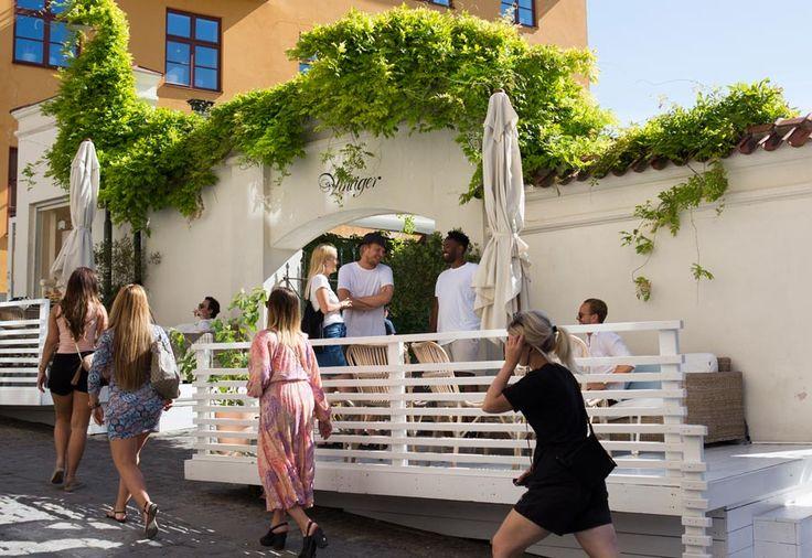 Medelhavsinspirerat på restaurangen Vinäger på Gotland.