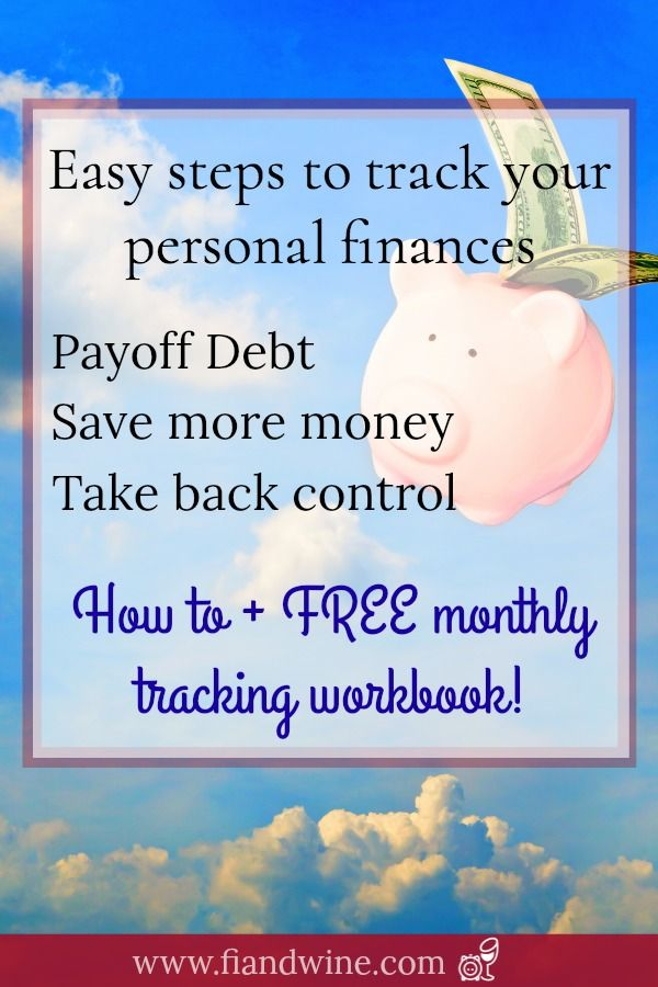 How To: Track Your Personal Finances
