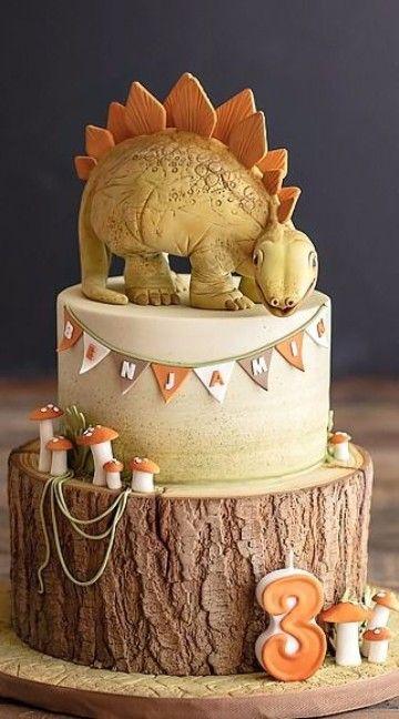 Con estas increíbles tortas de dinosaurios infantiles vas a impresionarlos a todos, incluso al pequeño cumpleañero. Muy bellas y fáciles de hacer, con