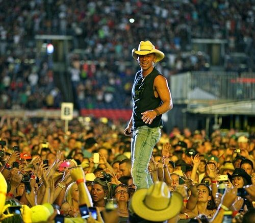 Kenny Chesney News - Kenny Chesney's Come Over Races to Gold in Record Time