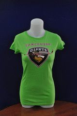 Classic Logo Ladies Lime Green Tee