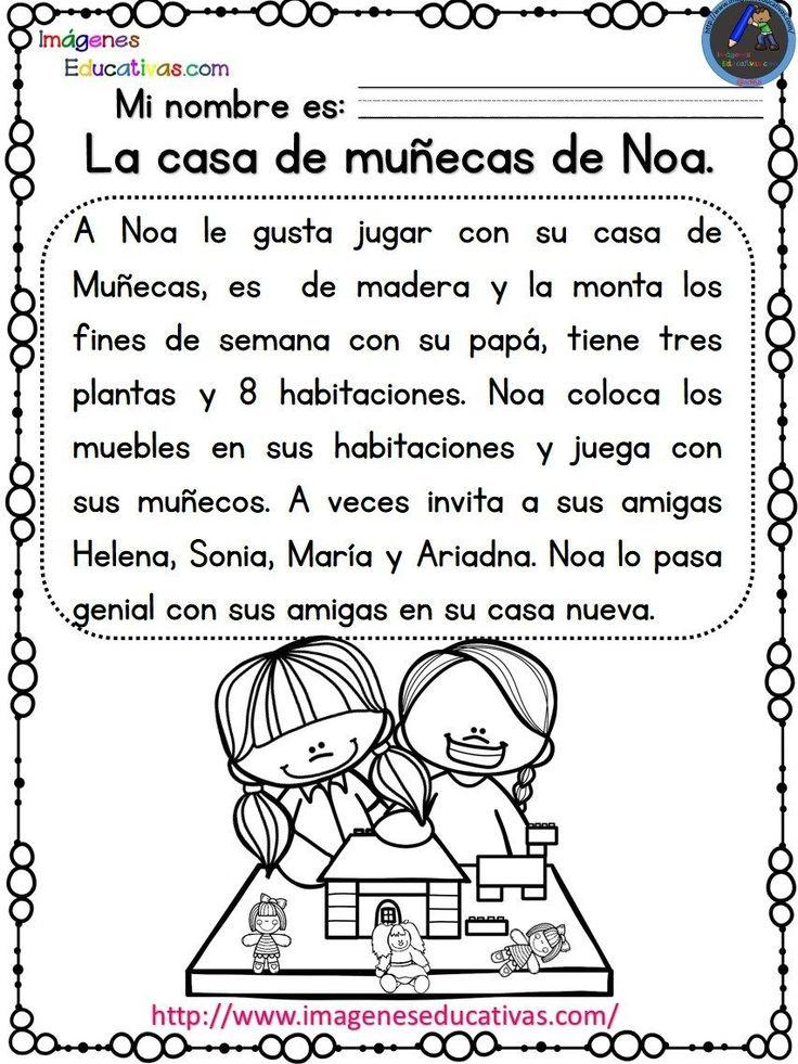Lecturas comprensivas para Primaria y primer grado. Las aventuras de Noa y Hugo Comprensión lectora es la capacidad de entender lo que se lee, tanto en referencia al significado de …