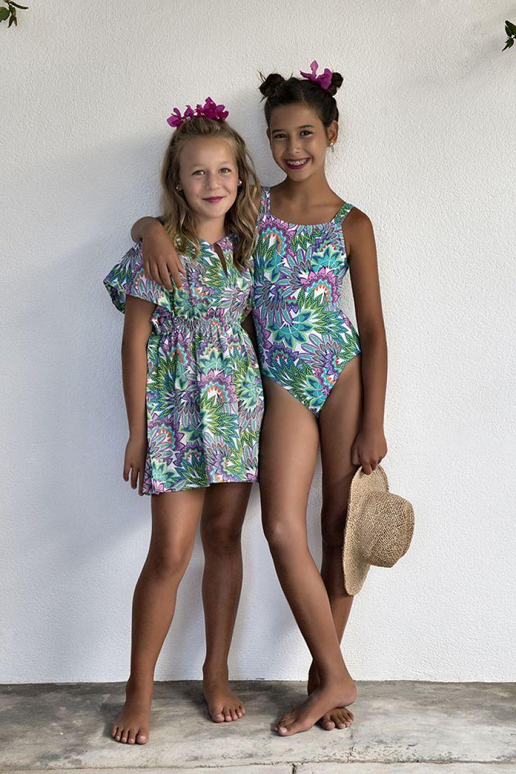 Bañador y Kurta-37 | Moda Niñas Primavera-Verano | Pinterest