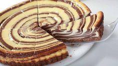 Nepečená ZEBRA torta