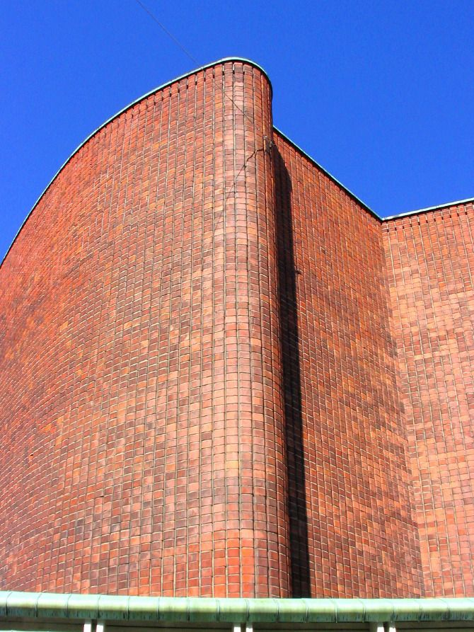 Alvar Aalto. House of Culture (Kulttuuritalo) - Klink