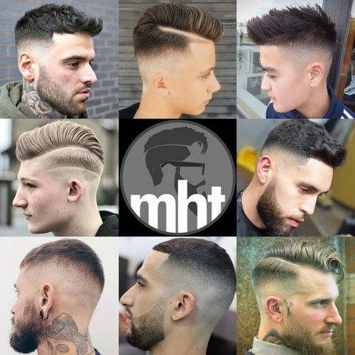 Cool Razor Fade Haircuts - Best Faded Hairstyles For Men