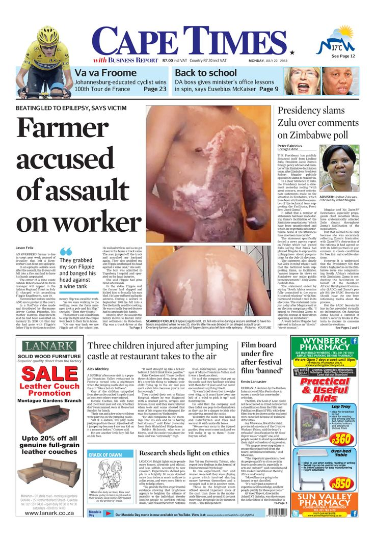 News making headlines: Farmer accused of assault on worker
