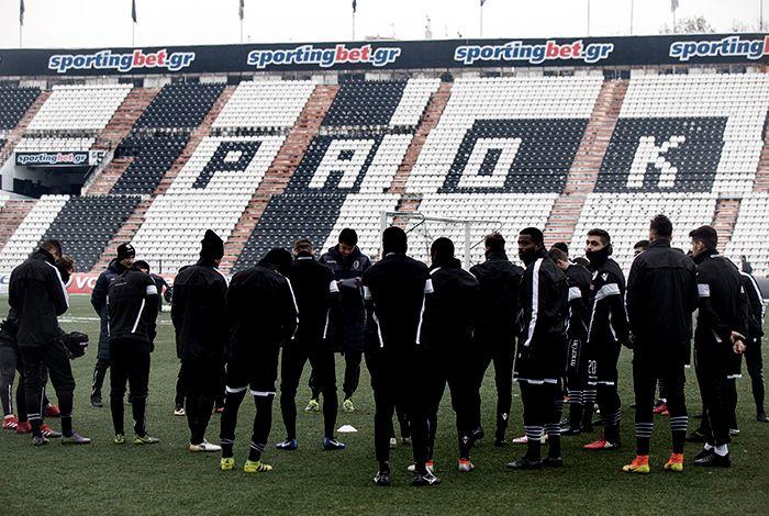 Φωτογραφικό υλικό από το πρόγραμμα των παικτών του Δικεφάλου στο Αθλητικό Κέντρο της ΠΑΕ ΠΑΟΚ.