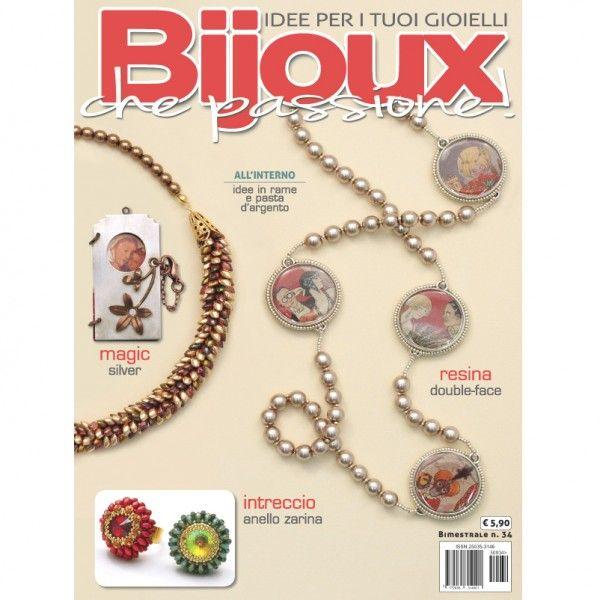 Beading magazine: Bijoux che Passione number 34