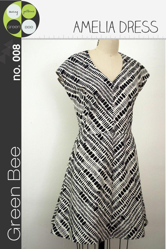 Amelia Dress pattern from Green Bee Design