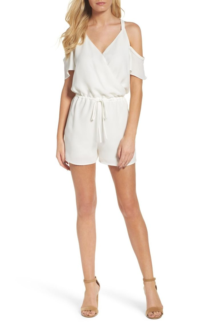 Absolutely adoring this white romper for spring.