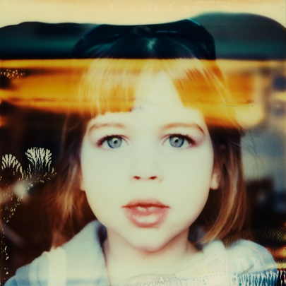 Blue Eyes (SX70) ©Adrian Cook