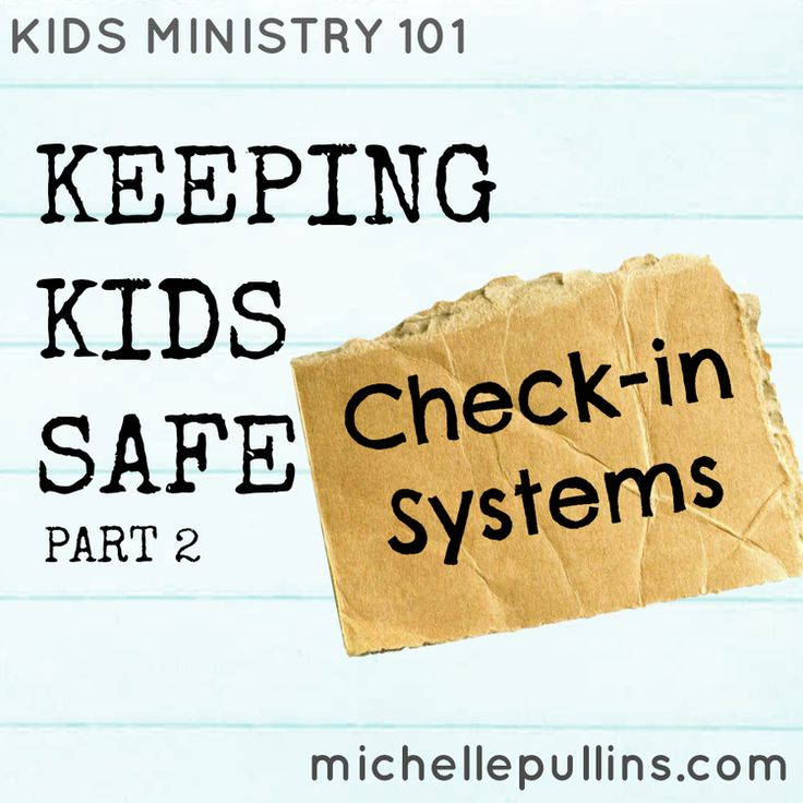 Qualities of a good check-in system  Whether you check-in the kids in your ministry electronically or not, the  following qualities are on my list for getting kids checked-in quickly  while keeping them safe!