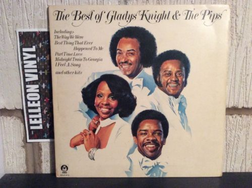 The Best Of Gladys Knight & The Pips LP Album Vinyl Record BDLH5013 Motown 70's Music:Records:Albums/ LPs:R&B/ Soul:Motown