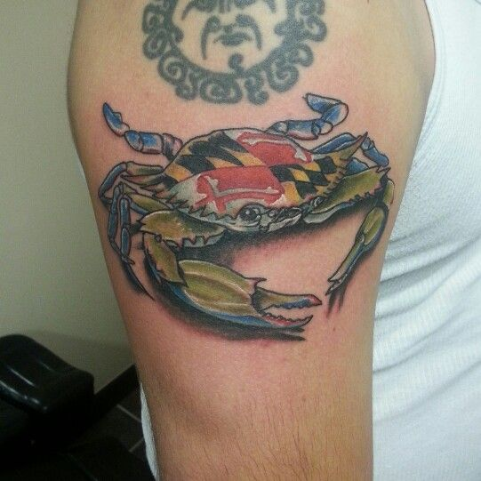 Best 25 maryland tattoo ideas on pinterest california for Maryland crab tattoo