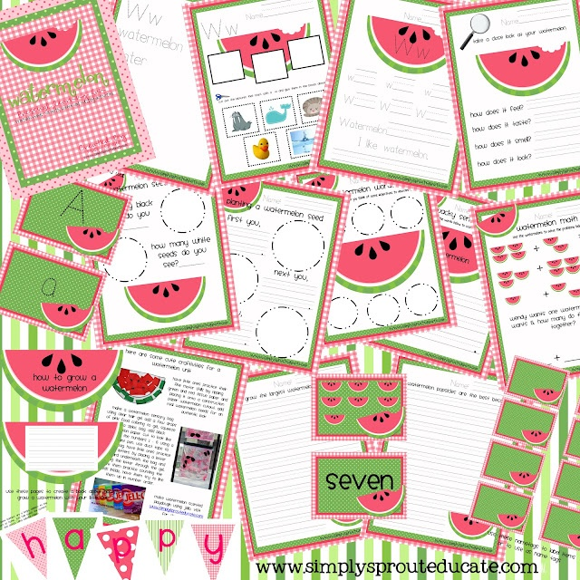 Watermelon theme ideas for the classroom