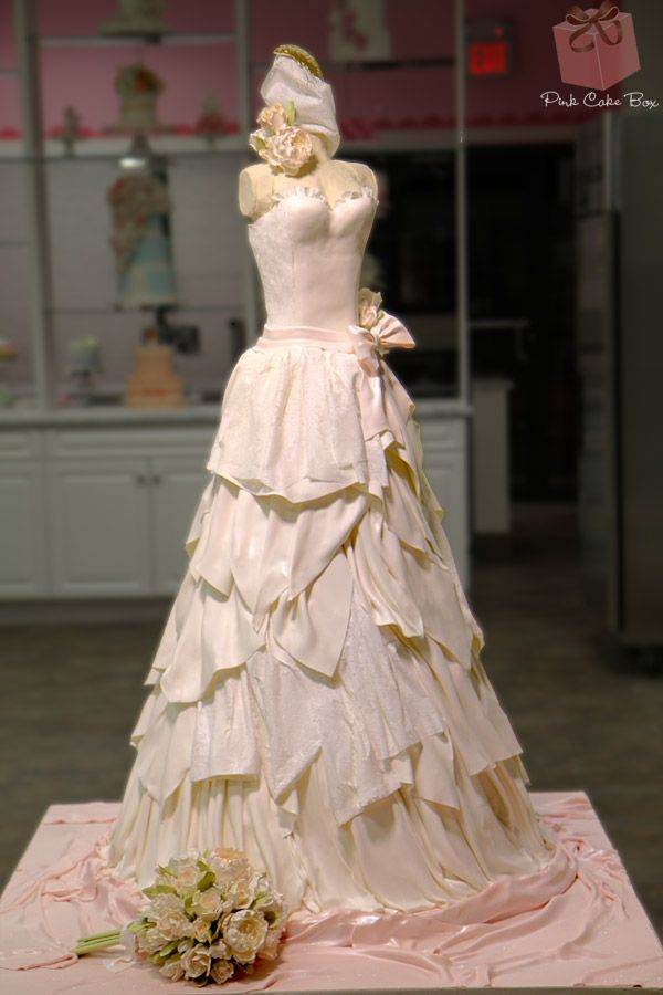 life size wedding dress cake food network wedding cakes