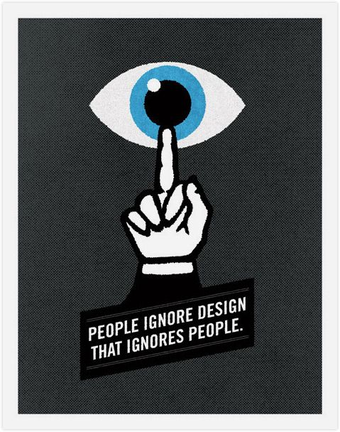 People ignore the design that ignores people