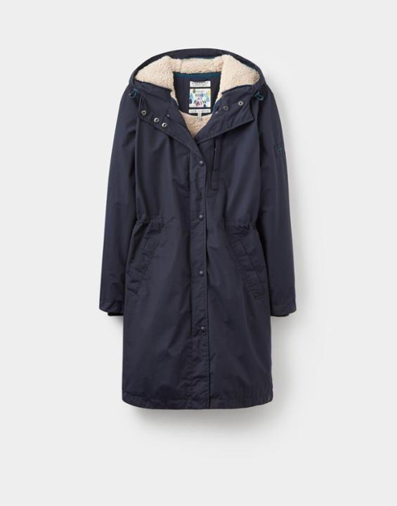 *JOULES    'Stormaway' waterproof coat in 'Marine Navy'   Chaqueta impermeable 'Stormaway' in 'Marine Navy'