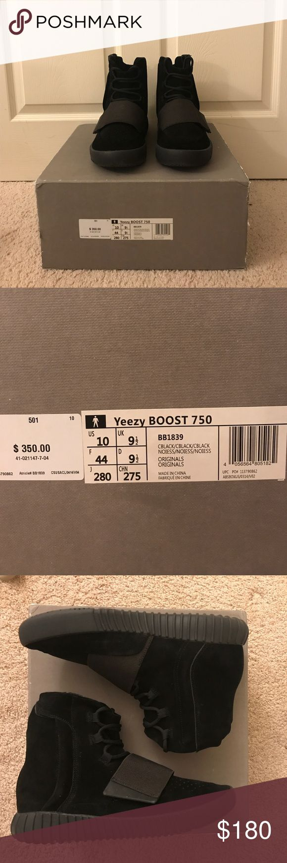 Perfectkicks Yeezy Boost 750 Black 📦 ✨New with box+Dust Bag ✨📦 Perfect Kicks is the only factory who can get more original materials than others. They got the original materials from adidas factory in China directly. Their version is the BEST you can find in the replica market 100% similarity guaranteed. This former loved Yeezy has been worn with caution, MINT condition, now selling it only 1/5 of the original price. FYI, their website is perfectkicks.me/ Yeezy Shoes Sneakers