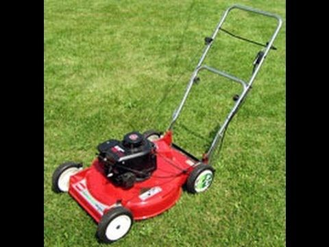 Part 1 How to start a mower that has been sitting for years