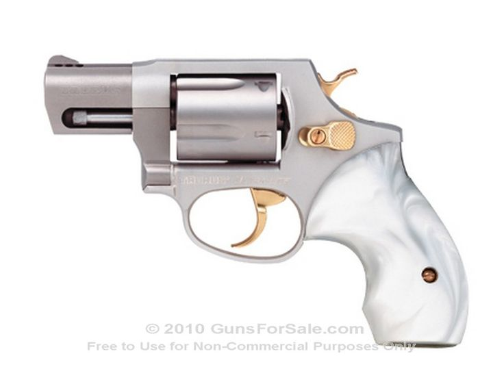 Pearl handled, nickel plated Taurus 85 Ultra Lite Snub nose 38 revolver...  YES!