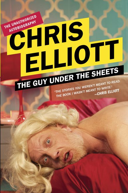 "THE GUY UNDER THE SHEETS: The Unauthorized Autobiography by Chris Elliott      ""This hugely entertaining pack of lies reads like a Woody Allen essay from the New Yorker.""—David Pitt, Booklist"