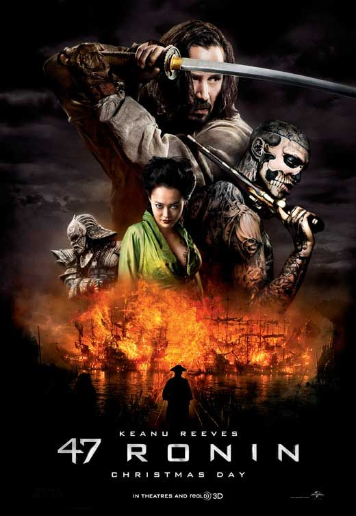 47 Ronin (2013) Heading to the Theater now to see this! Should be good!