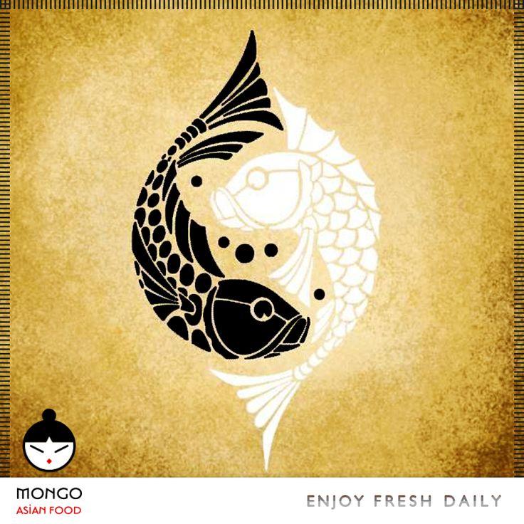 Στα #Mongo #Asian #Food βασιλεύει η απόλυτη αρμονία γεύσεων - μυρωδιών -χρωμάτων... #Mongo #Γιν #Γιανγκ Εκφράζει το #καλό και το #κακό λένε κάποιοι - μάλλον πολύ επιφανειακά - και αυτό είναι μόνο μια πολύ παιδική ερμηνεία του συμβόλου. Όλη η κινέζικη σκέψη και #κοσμογονία είναι κλεισμένη σε αυτό το σύμβολο, η ζωή , ο θάνατος, ο φόβος, η δύναμη, το σκοτάδι, το φω