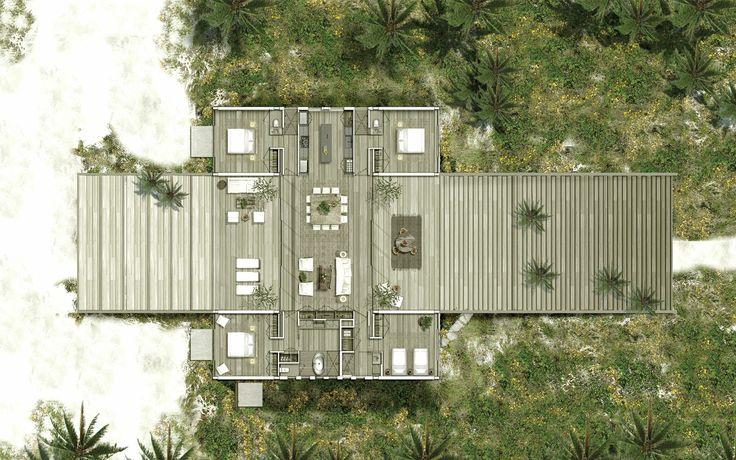 Casa en una duna