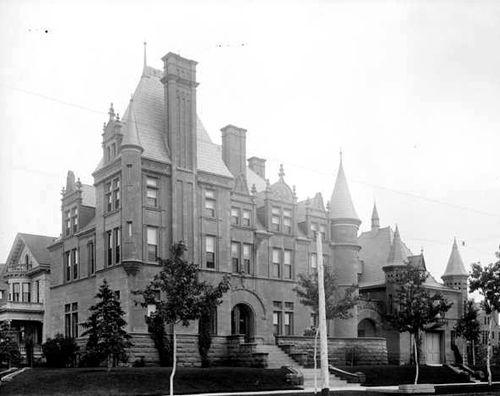 Colorado's haunted architecture - Croke Patterson Mansion built 1880s
