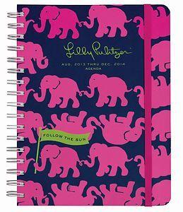 Elephant Agenda - Lily Pulitzer!