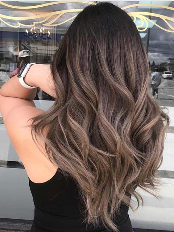 60 Trendiest Brunette Balayage Highlights to Wear in 2018
