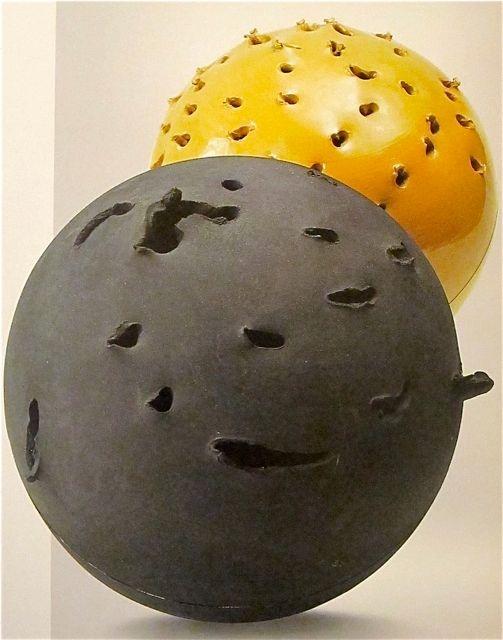 Modernist Italian Ceramics: Lucio Fontana, 1957