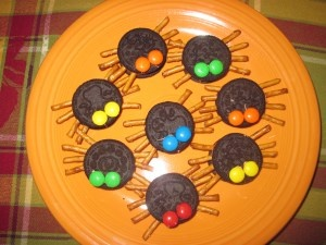Colorful Oreo Spiders