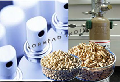 Mercaptan Gas is required to remove from Natural Gases, We are offering this process with using Molecular Sieve 13X Beads & Pellets.