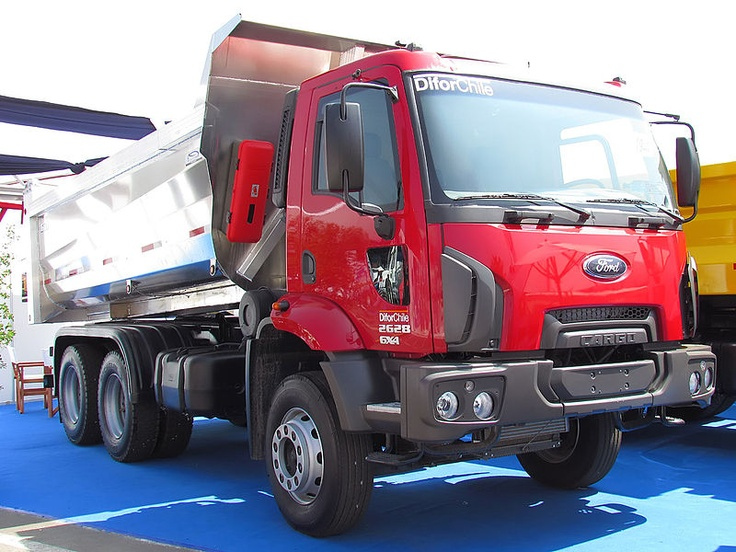 Ford Dump Truck >> With the demise of the Ford Transcontinental heavy truck range, British Ford introduced a range ...
