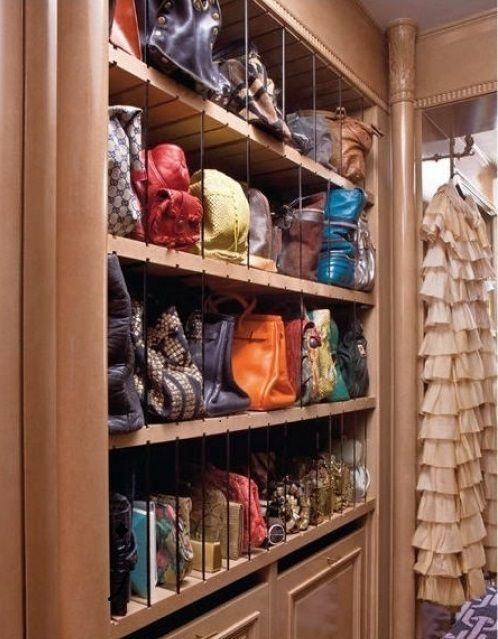 Creative bags and shoes storage ideas
