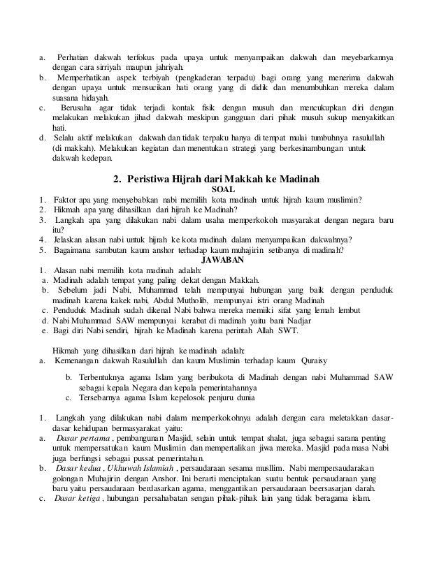 Soal Dan Jawaban Tentang Syaja Ah Kanal Jabar
