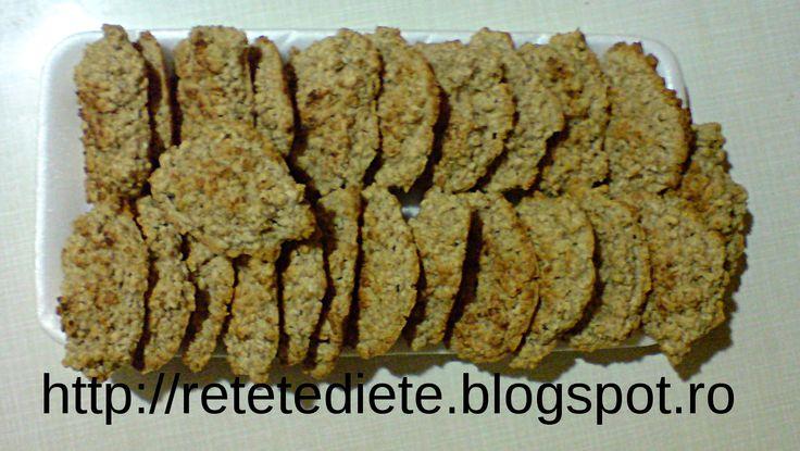 Retete simple, mancare delicioasa: Reteta taraneasca de biscuiti sarati cu fulgi de ovaz si smantana