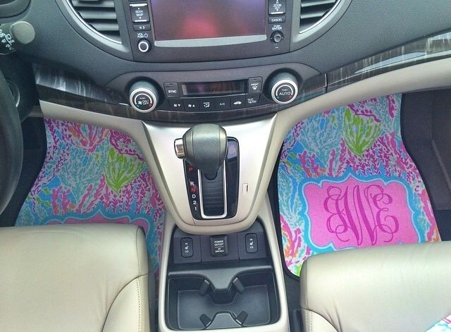 lilly pulitzer monogrammed car mats wants pinterest cars and lilly pulitzer. Black Bedroom Furniture Sets. Home Design Ideas