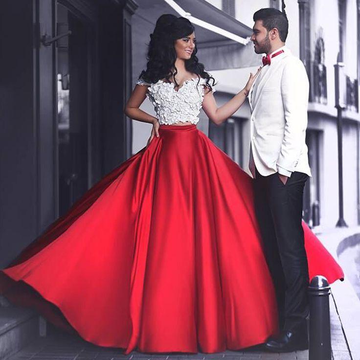 Красивые красные  с кружевом