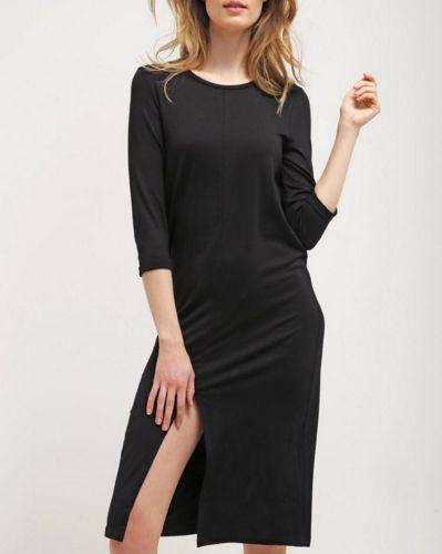 Vero Moda VMTILDE czarna Sukienka z rozcięciem na udo black