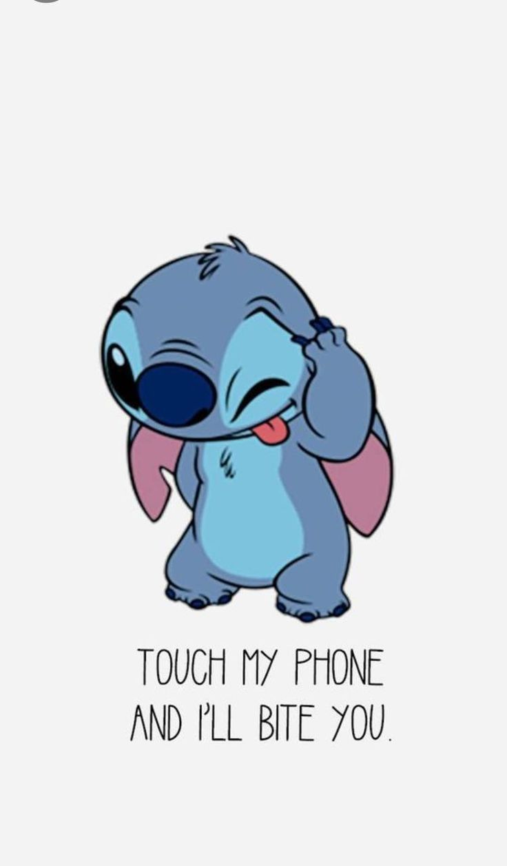 Download Stitch Wallpaper By Sammisamz420 32 Free On Zedge Now Browse Millions Of Popular Disney Wallpapers And Ringtones On Zedge And Personalize Your Ph Cartoon Wallpaper Iphone Funny Phone
