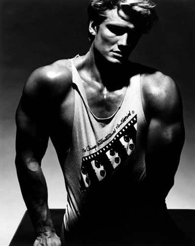 lord have mercy. Dolph Lundgren for Chicago Film Festival early 90s? .