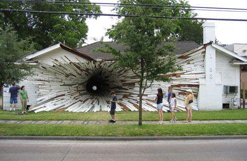Hole House, SUA.
