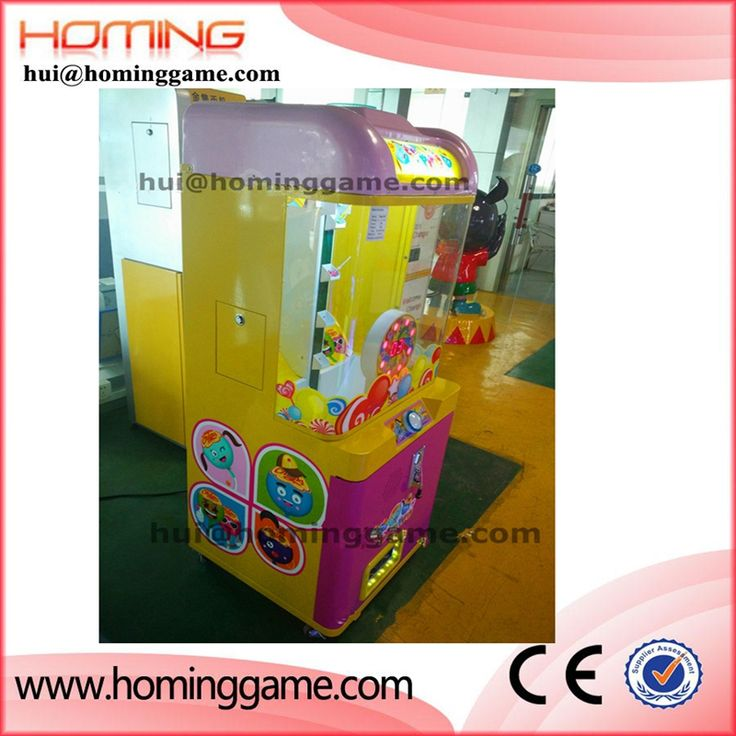 hot sale arcade toy gift machine candy claw crane prize vending game machine  hui@hominggame.com Type:Small candy prize vending machine,Small crane game machine,candy machine for children,Standard export packing ,prize vending machine,vending machine,game machine,coin operated game machine,arcade game machine