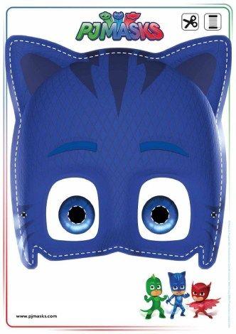 imprimibles-pjmasks - Cumpleaños Heroes en Pijamas - Fiestas PjMasks - Actividades Juegos PJmasks - Imprimibles gratis Pjmasks