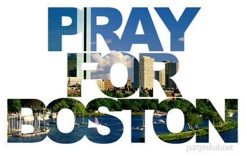 Pray for Boston♥